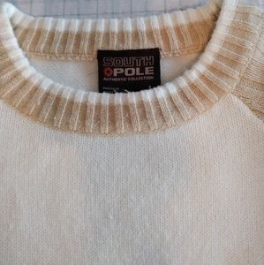 South Pole Sweaters - 90's Vintage Embroidered Men's South Pole Sweater